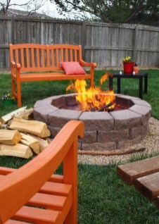 Creative Build Round Firepit Area Ideas For Summer Nights 02