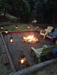 Creative Build Round Firepit Area Ideas For Summer Nights 08
