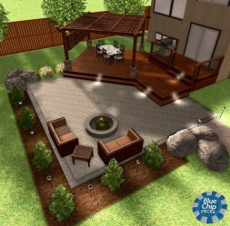 Creative Build Round Firepit Area Ideas For Summer Nights 16