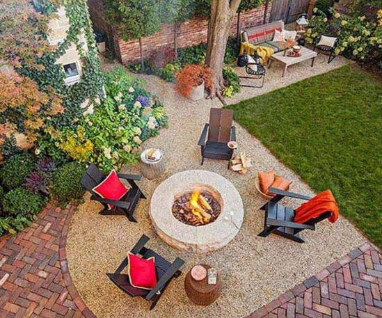 Creative Build Round Firepit Area Ideas For Summer Nights 19
