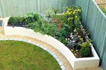 Fancy Garden Bed Borders Ideas For Vegetable And Flower 09