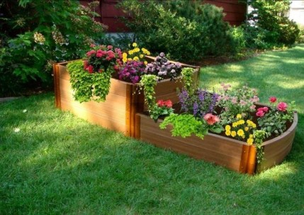 Fancy Garden Bed Borders Ideas For Vegetable And Flower 20