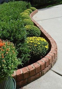 Fancy Garden Bed Borders Ideas For Vegetable And Flower 22
