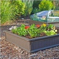 Fancy Garden Bed Borders Ideas For Vegetable And Flower 27