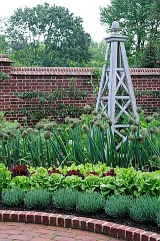 Fancy Garden Bed Borders Ideas For Vegetable And Flower 43