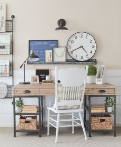 Lovely Small Home Office Ideas 23