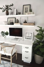 Lovely Small Home Office Ideas 27