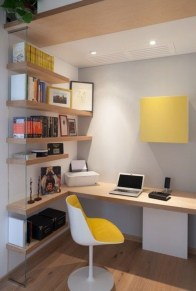 Lovely Small Home Office Ideas 38