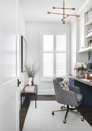 Lovely Small Home Office Ideas 56