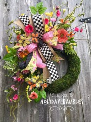 Beautiful Summer Wreath Design Ideas To Try Asap 36