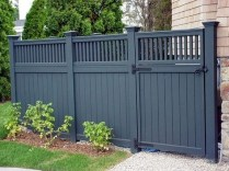 Charming Privacy Fence Ideas For Gardens 09