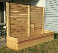 Charming Privacy Fence Ideas For Gardens 40