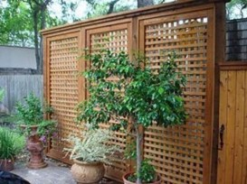 Charming Privacy Fence Ideas For Gardens 49