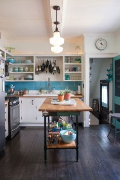 Cool Colorful Kitchen Decor Ideas For Summer 41