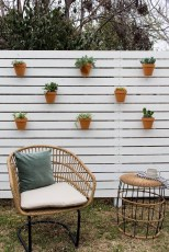Cool Garden Fence Decoration Ideas To Try This Year 44