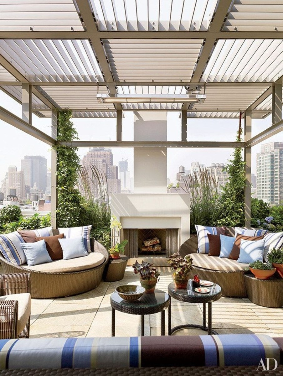 Cozy Home Terrace Design Ideas For Summer To Try Nowaday 09