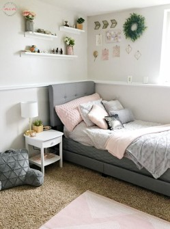 Cute Teen Girl Bedroom Design Ideas You Need To Know 23