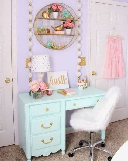 Cute Teen Girl Bedroom Design Ideas You Need To Know 29