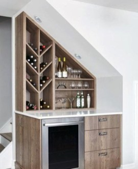 Elegant Mini Bar Design Ideas That You Can Try On Home 04