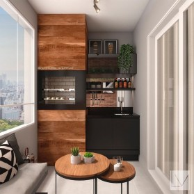 Elegant Mini Bar Design Ideas That You Can Try On Home 41