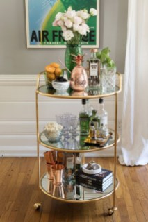 Elegant Mini Bar Design Ideas That You Can Try On Home 46