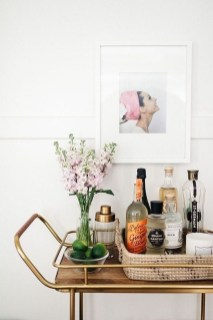 Elegant Mini Bar Design Ideas That You Can Try On Home 48