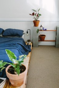 Fancy Diy Ideas To Make Bed Place From Pallet Project 01