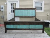 Fancy Diy Ideas To Make Bed Place From Pallet Project 42