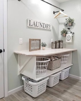 Fascinating Small Laundry Room Design Ideas 09
