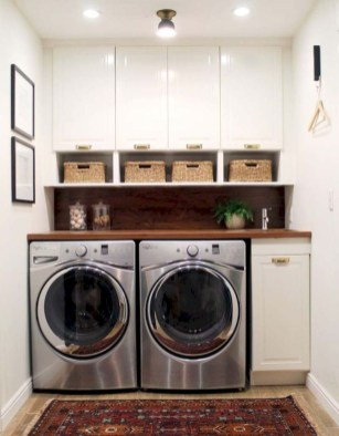 Fascinating Small Laundry Room Design Ideas 17