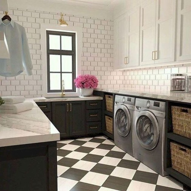 Fascinating Small Laundry Room Design Ideas 59