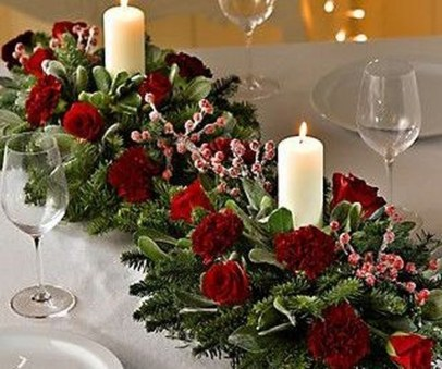 Hottest Christmas Table Decorating Ideas For You 46