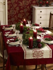 Hottest Christmas Table Decorating Ideas For You 54