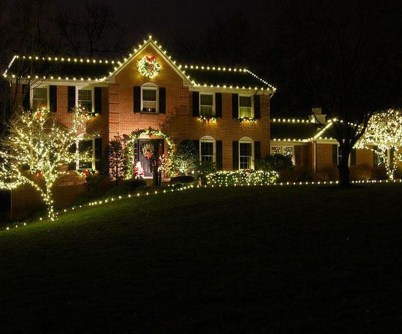 Latest Diy Christmas Lights Decorating Ideas 03