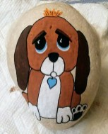 Magnificient Diy Painted Rocks Ideas With Animals Dogs For Summer 06