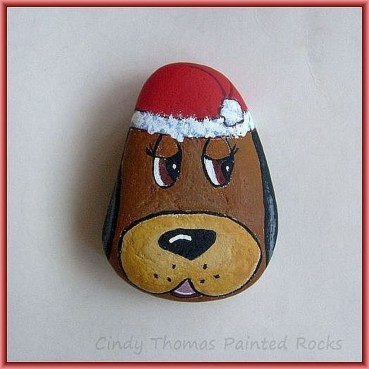 Magnificient Diy Painted Rocks Ideas With Animals Dogs For Summer 40