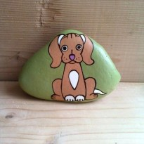Magnificient Diy Painted Rocks Ideas With Animals Dogs For Summer 42