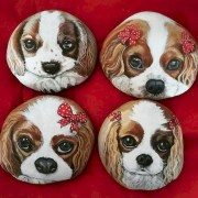 Magnificient Diy Painted Rocks Ideas With Animals Dogs For Summer 50