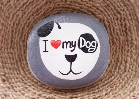 Magnificient Diy Painted Rocks Ideas With Animals Dogs For Summer 52