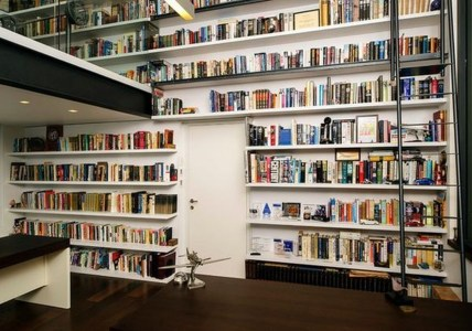 Magnificient Home Design Ideas With Library You Should Keep 04
