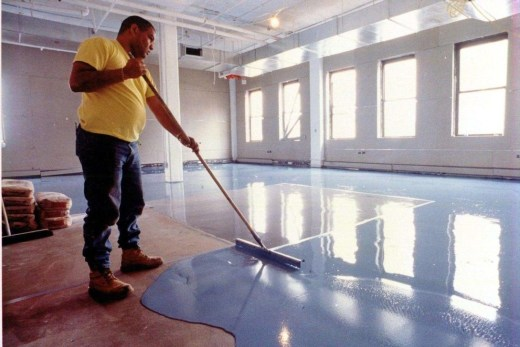 Pretty Garage Floor Design Ideas That You Can Try In Your Home 05