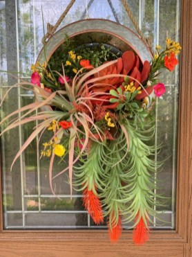 Pretty Summer Wreath Decor Ideas For Front Door 15