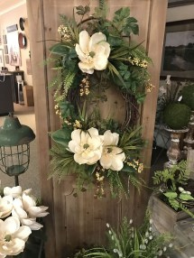 Pretty Summer Wreath Decor Ideas For Front Door 19