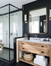 Rustic Bathroom Design Ideas With Wood For Home 21