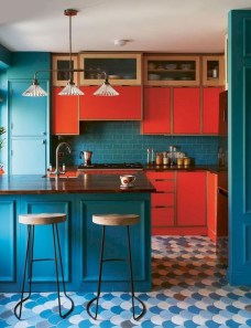 Stylish Colorful Apartment Decor Ideas For Summer 32