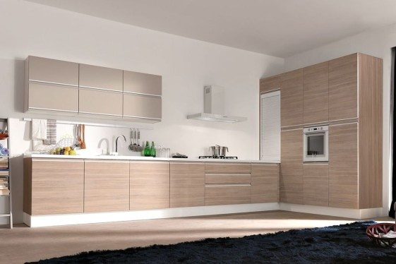 Unique Painted Kitchen Cabinets Design Ideas With Two Tone 28
