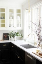 Unique Painted Kitchen Cabinets Design Ideas With Two Tone 34