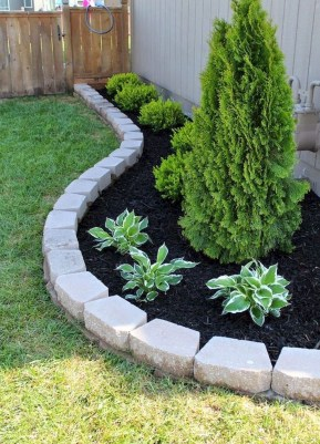 Attractive Border Garden Ideas To Your Landscaping Edging 16