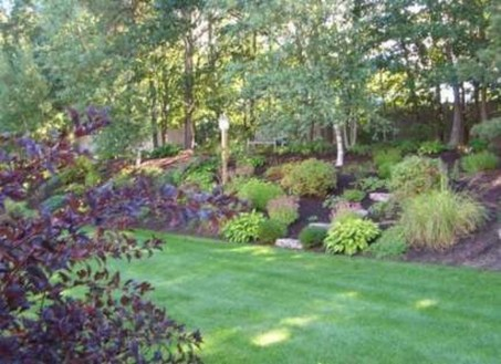 Attractive Border Garden Ideas To Your Landscaping Edging 25