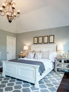 Classy Farmhouse Bedroom Ideas To Try Right Now 52